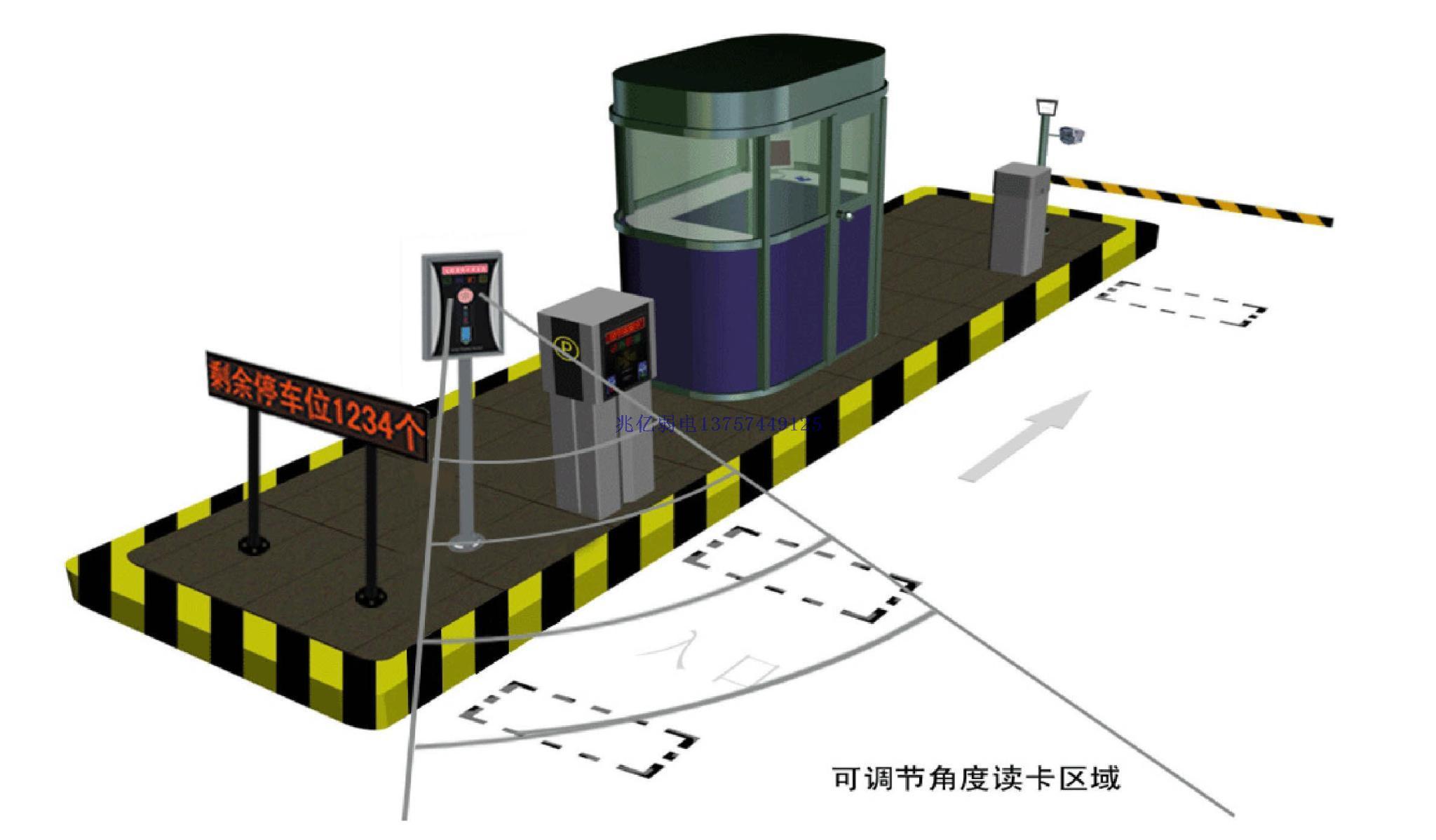 电脑可以实时检测道闸开启状态,并可以进行自检,在jst2100智能停车场